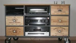 1000 idees sur le theme meuble tv roulettes sur pinterest With meuble tv maisons du monde 5 deco retro amp vintage chez maisons du monde blog deco