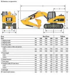 cat excavator sizes caterpillar 323 dl tracked excavator for mod direct