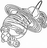 Meteor Coloring Getdrawings sketch template