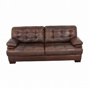 Dark brown sofa north s dark brown living room set by for West elm sectional sofa brown