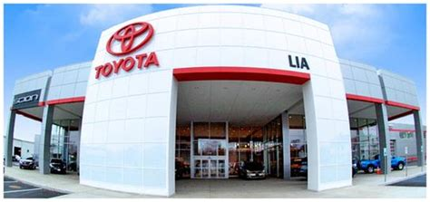 Lia Toyota Of Colonie by Lia Toyota Of Colonie Colonie Ny 12205 Car Dealership
