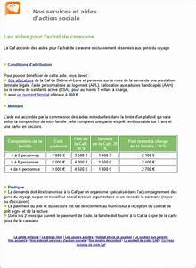 Pret A La Caf : gens du voyage des aides de la caf pour l 39 achat de caravanes observatoire des gaspillages ~ Gottalentnigeria.com Avis de Voitures