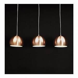 Kokoon, Trika, Copper, Hanging, Ceiling, Lights
