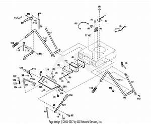 Troy Bilt 34363 Wide Cut 33 U0026quot  Combo Parts Diagram For