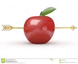 arrow  apple stock photography image