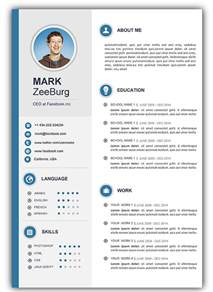 resume template in word free 3 free download resume cv templates for microsoft word