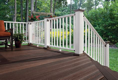 Wood Porch Railing Systems by Tamko East Side Lumberyard Supply Co Inc