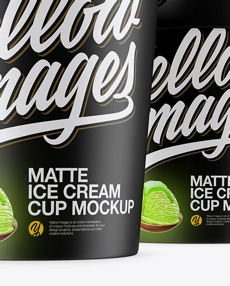Coffee creamer coffee coffee free mockup templates phone mockup shirt mockup paper paper best logo design cream cream high level. Download Matte Ice Cream Cup Mockup Front View ...
