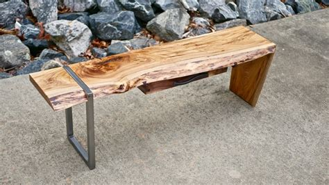 how to make a live edge table modern live edge waterfall coffee table how to build