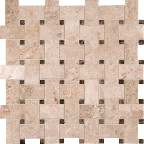 basketweave tile crema cappuccino basketweave backsplash