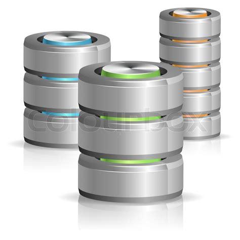 database fotografier datenbank und hard disk icon stockfoto colourbox