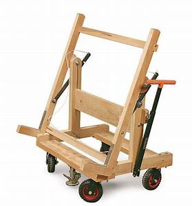Pivoting Plywood Cart - FineWoodworking