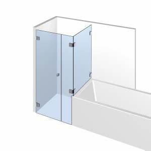 Badewanne Und Dusche Nebeneinander : bad dusch kombi von top marken auf glasundbeschlag ~ Lizthompson.info Haus und Dekorationen