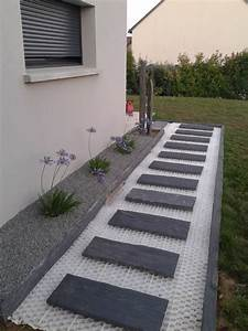 Allee De Jardin Facile : doucement mais s rement a avance d co am nagement ext rieur caminos jardin escaleras ~ Melissatoandfro.com Idées de Décoration