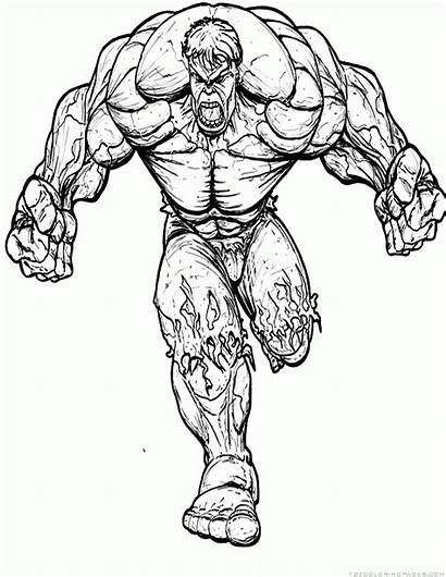 Superhero Hulk Zoom Coloring Pages 123coloringpages
