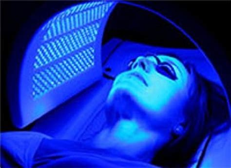 blue light therapy for acne anti acne therapy youthful trends spray and spa