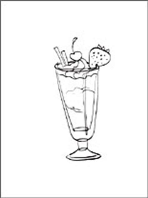 desenho de milk shake  colorir desenhos  colorir