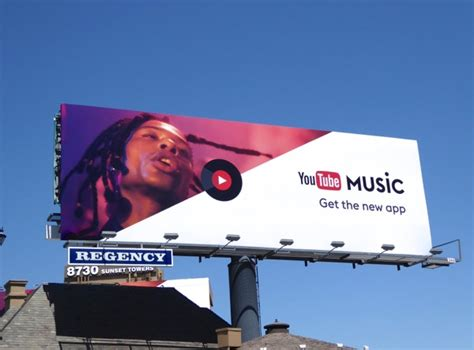 Promoting your music video using youtube ads: Daily Billboard: YouTube Music app billboards... Advertising for Movies TV Fashion Drinks ...