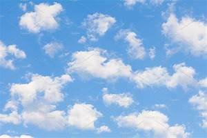 Clouds, With, Blue, Sky