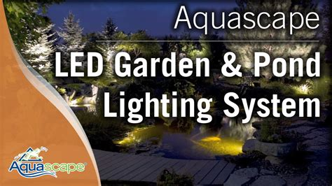 aquascape lighting led garden and pond lighting system by aquascape