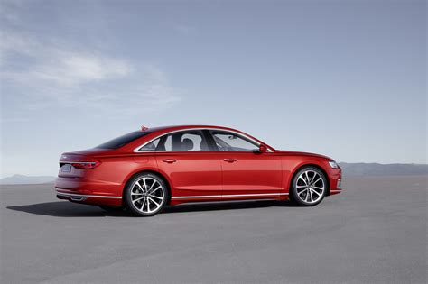 The New Audi A8 Luxury Sedan Is A High-tech Beast That Can