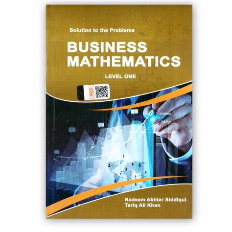 Business Mathematics For I Com Part 1 By Nadeem Akhtar ...