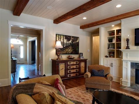 groove ceiling with exposed wood beams..gonna do this in