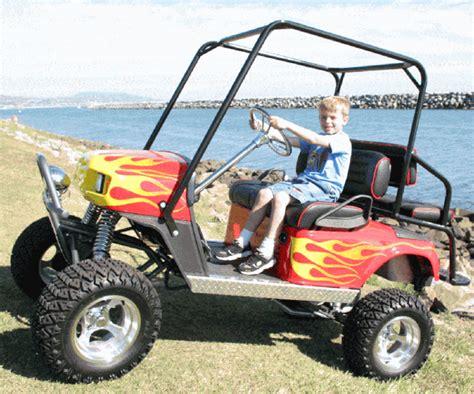 Custom Gas Off-road Golf Cart