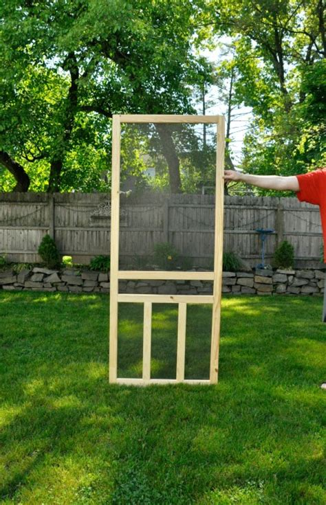screen door ideas how to install a screen door teeny ideas