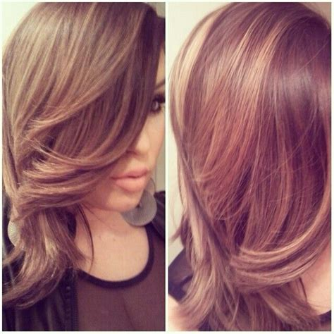 light brown with blonde highlights light brown with blonde highlights hair pinterest