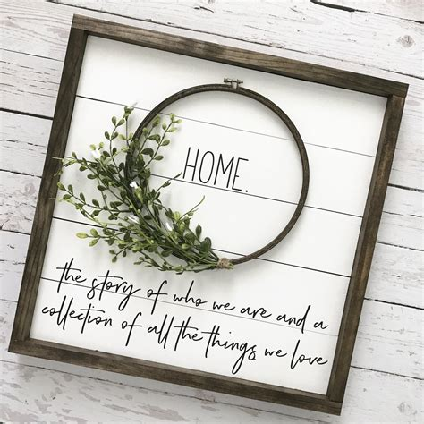 Framed Shiplap by Framed Shiplap Home Wreath Sign 19x19 Quot Coastal Crafty
