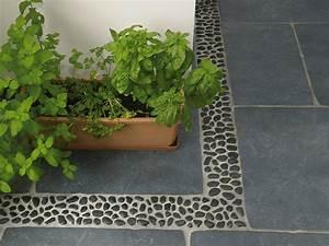 Terrasse En Mosaique : mosa que galets rond ~ Zukunftsfamilie.com Idées de Décoration