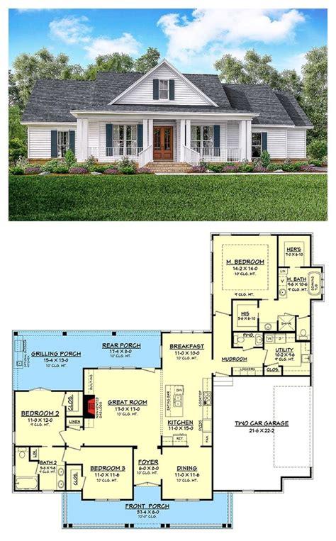 classic  bed country farmhouse plan house plans farmhouse architectural design house plans