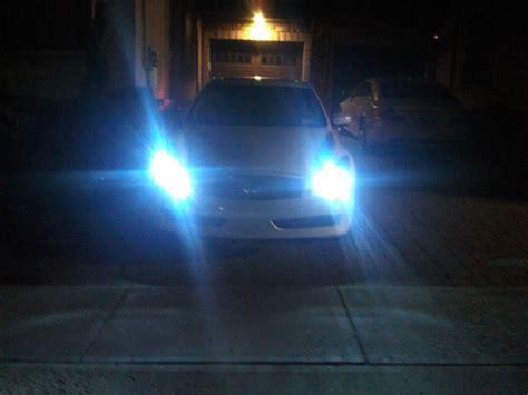 just installed 8000k hid headlights leds myg37
