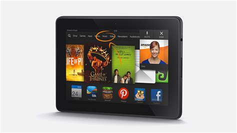 Kindle Fire HDX Hands-On: Amazon's Tablet, All Grown Up At
