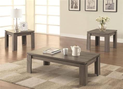 Nowadays it is rather popular to set grey coffee tables in the living rooms, where the predominant color is dark or even. Best 30+ of Grey Coffee Table Sets