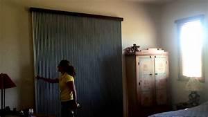 Vertical Honeycomb Blinds For Sliding Door