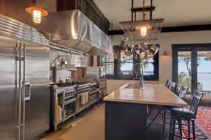 kitchen islands with stove industrial kitchen or aka this is a quot chef 39 s quot kitchen