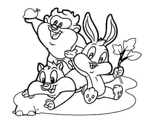 Coloring Pages Looney Tunes - Erieairfair