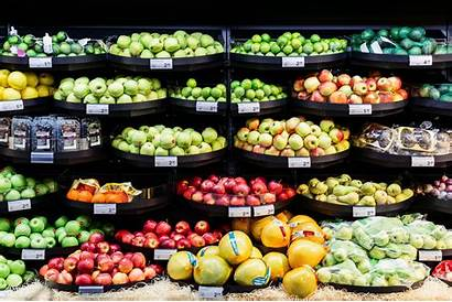 Fresh Supermarket Display Produce Redi Hl Merchandising