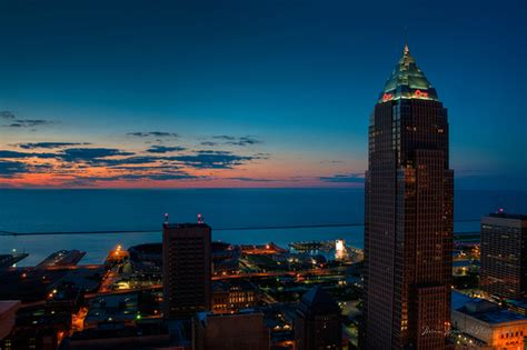 views from the cleveland terminal tower observation deck 2