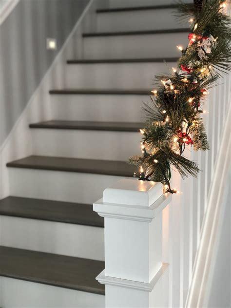 christmas decor  stairs  festive diy ideas bob vila