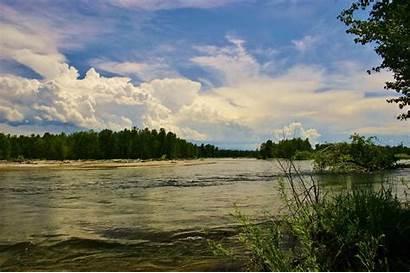 Bitterroot River Fishing Spring Water Montana Fly