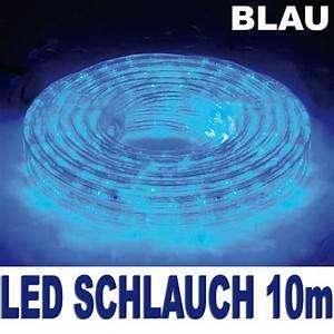 Led Lichterschlauch 10m : 360er led lichtschlauch lichterschlauch 10m 13mm blau au en innen lichterkette ebay ~ Buech-reservation.com Haus und Dekorationen