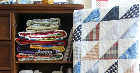 Quilters Cupboard by Creative Sheets And Shirts Hst Quilt