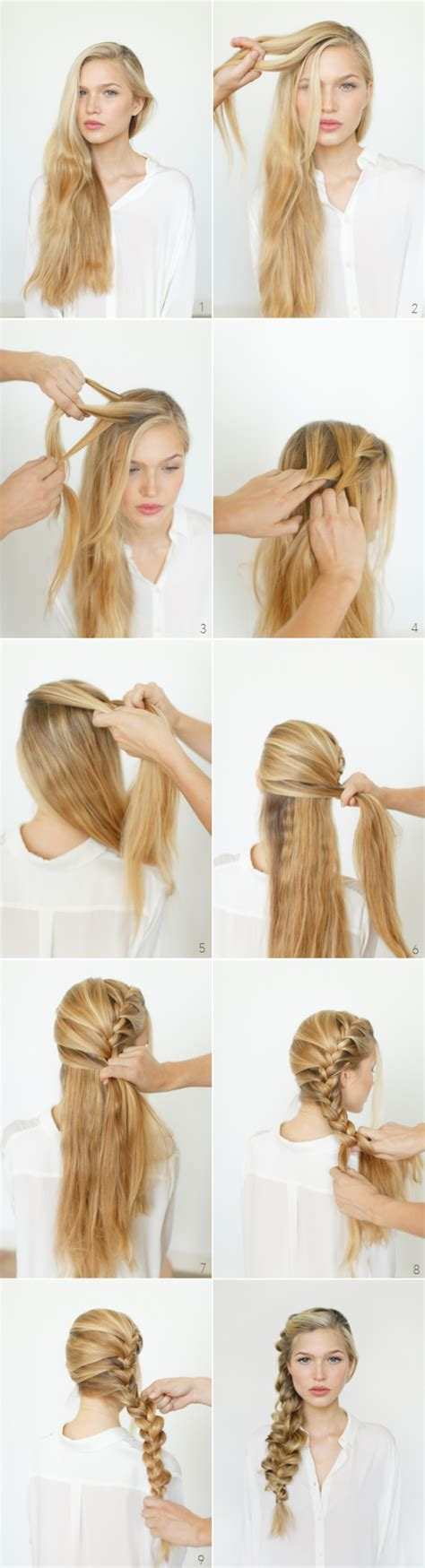 easy step  step tutorials  perfect hairstyles