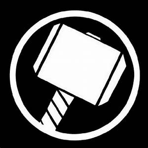 Thor logo   Superhero symbols, Thor symbol, Superhero logo ...