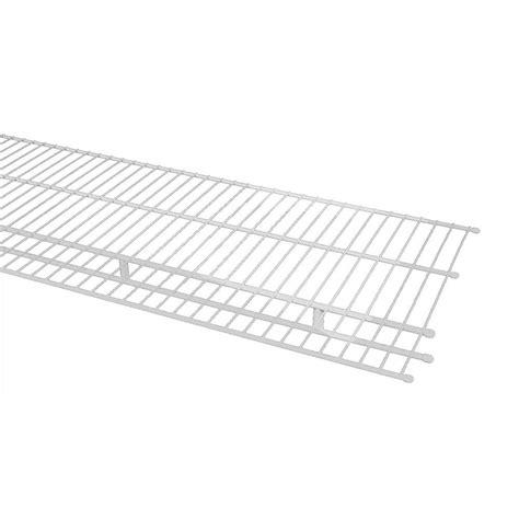 Closetmaid Wire Shelf by Closetmaid 144 In X 16 In Steel Ventilated Wire Shelf