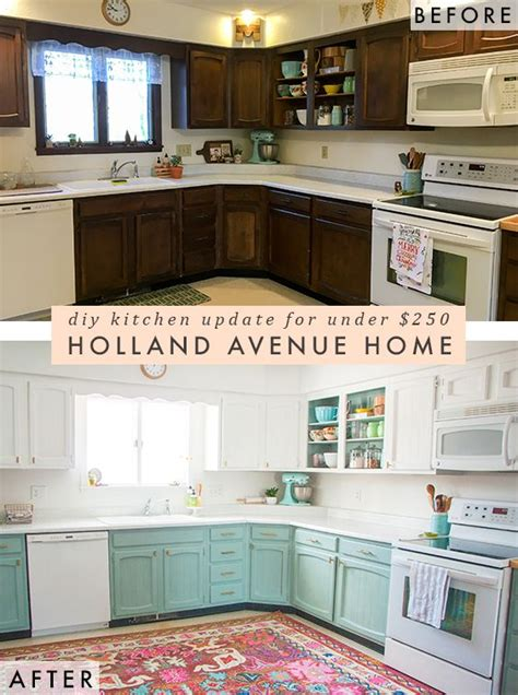 Kitchen Cabinet Remodel Diy by Before After A Bright Affordable Diy Kitchen Update