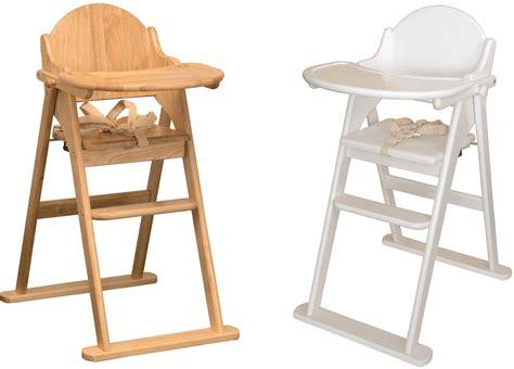 chaise haute en bois bébé east coast chaise haute pliable en bois solide accessoire